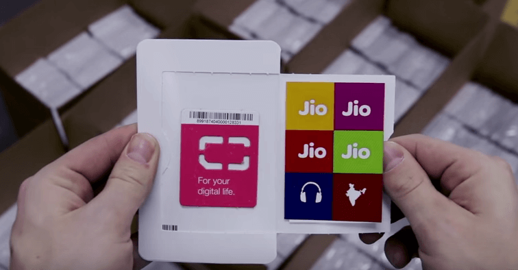 Reliance Jio 4G Data, Voice and SMS Plans