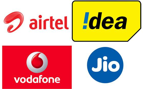 Airtel Surprise 4G Vs Jio Prime 4G Vs Vodafone 4G Vs Idea 4G (28GB)