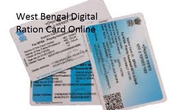 West Bengal Digital Ration Card Online