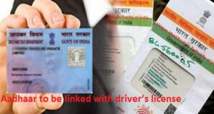 Aadhaar to be linked with driver's license