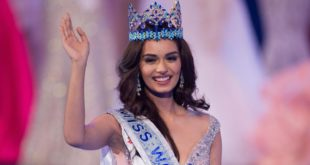 Miss World 2017 From India Manushi Chhilla