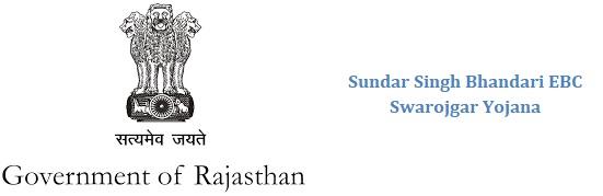 Sundar Singh Bhandari EBC Swarojgar Yojana Loan Rajasthan