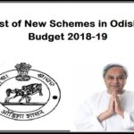 List of New Schemes in Odisha Budget 2018-19
