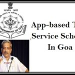 App-based Taxi Service Scheme Goa
