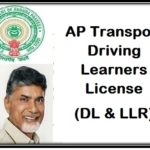 (Apply) AP Transport Driving Learners License (DL and LLR)