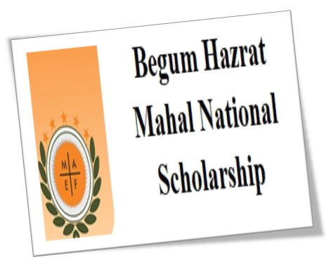 Begum Hazrat Mahal National Scholarship Scheme