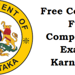 Free Coaching For Competitive Exams in Karnataka