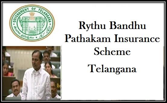 Rythu Bandhu Pathakam Insurance Scheme in Telangana